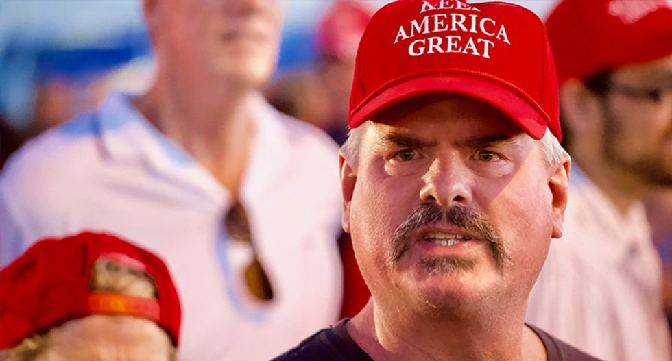 They 'just want to watch the world burn': Psychological analysis reveals 14 key traits that explain Trump supporters