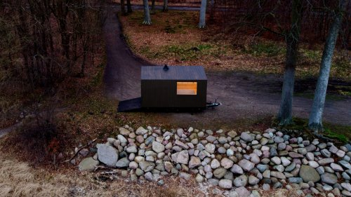 Personal Mobile Saunas Provide Comfort and Privacy in Nature