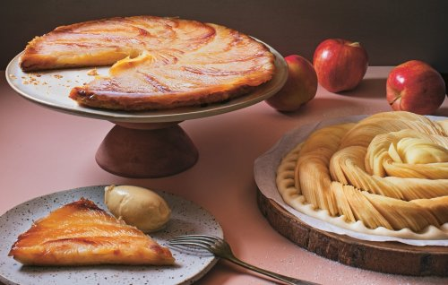 Chef Thierry Busset's Famous Apple Tart