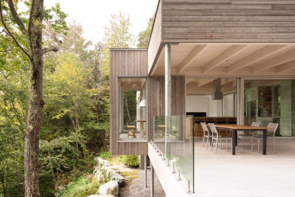 Home of the Week: Forest House 1 by Natalie Dionne Architecture