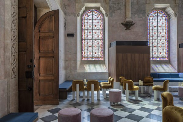 Modern Luxury Hotels Built in Abandoned Churches