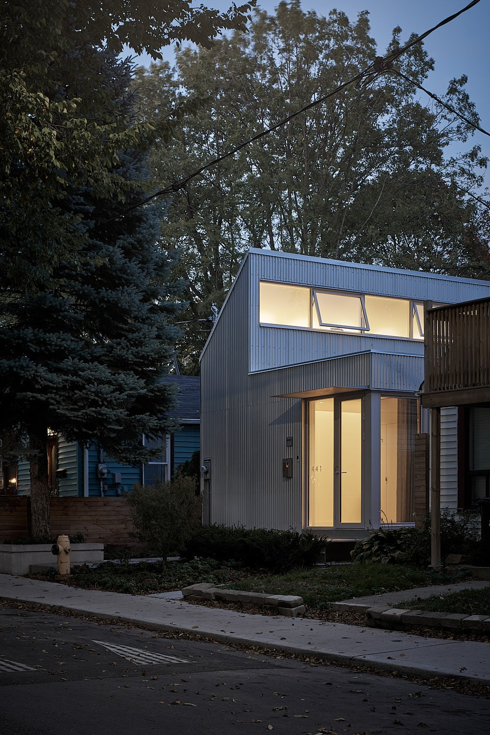 Craven Road Micro House by Anya Moryoussef Architect