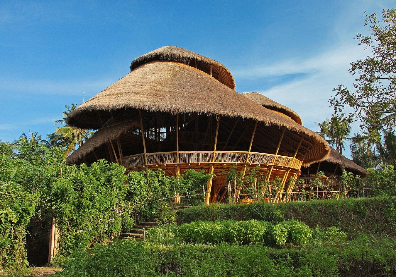 The World's Greenest School in the Jungles of Bali