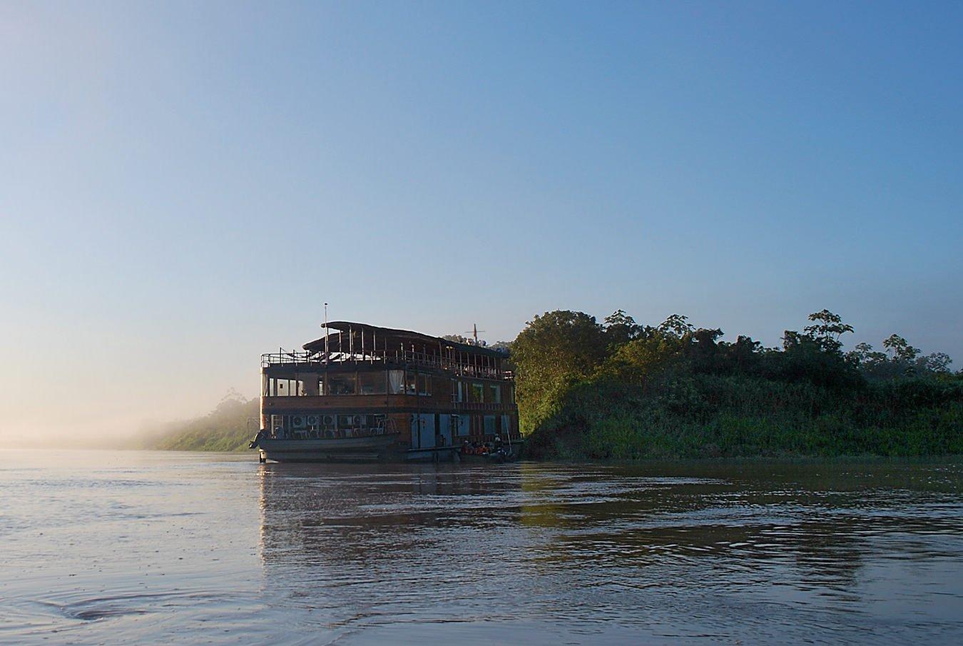 Cruising the Amazon in Peru