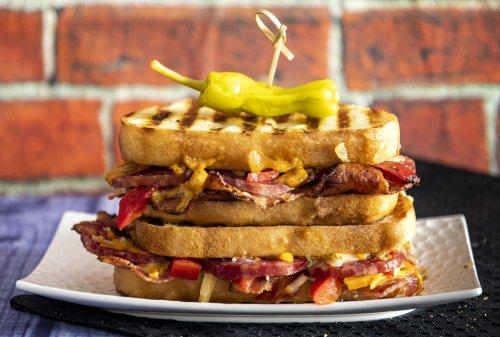Bacon Salami Melt | Raymond's Food