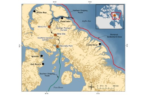 Latest chapter in huge Arctic mine project