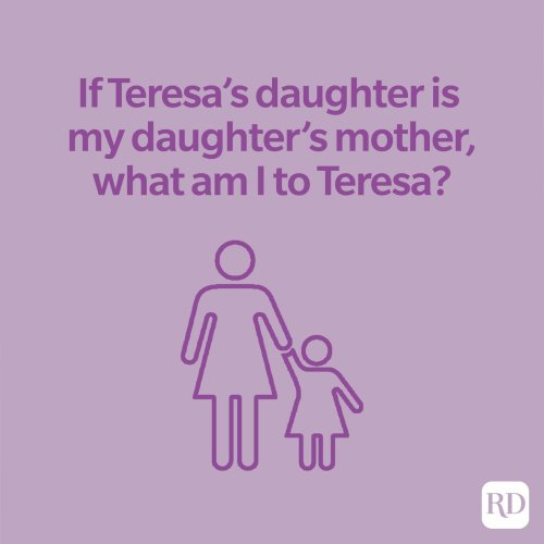 If Teresa's Mother Is My Daughter: Answer to the Viral Riddle