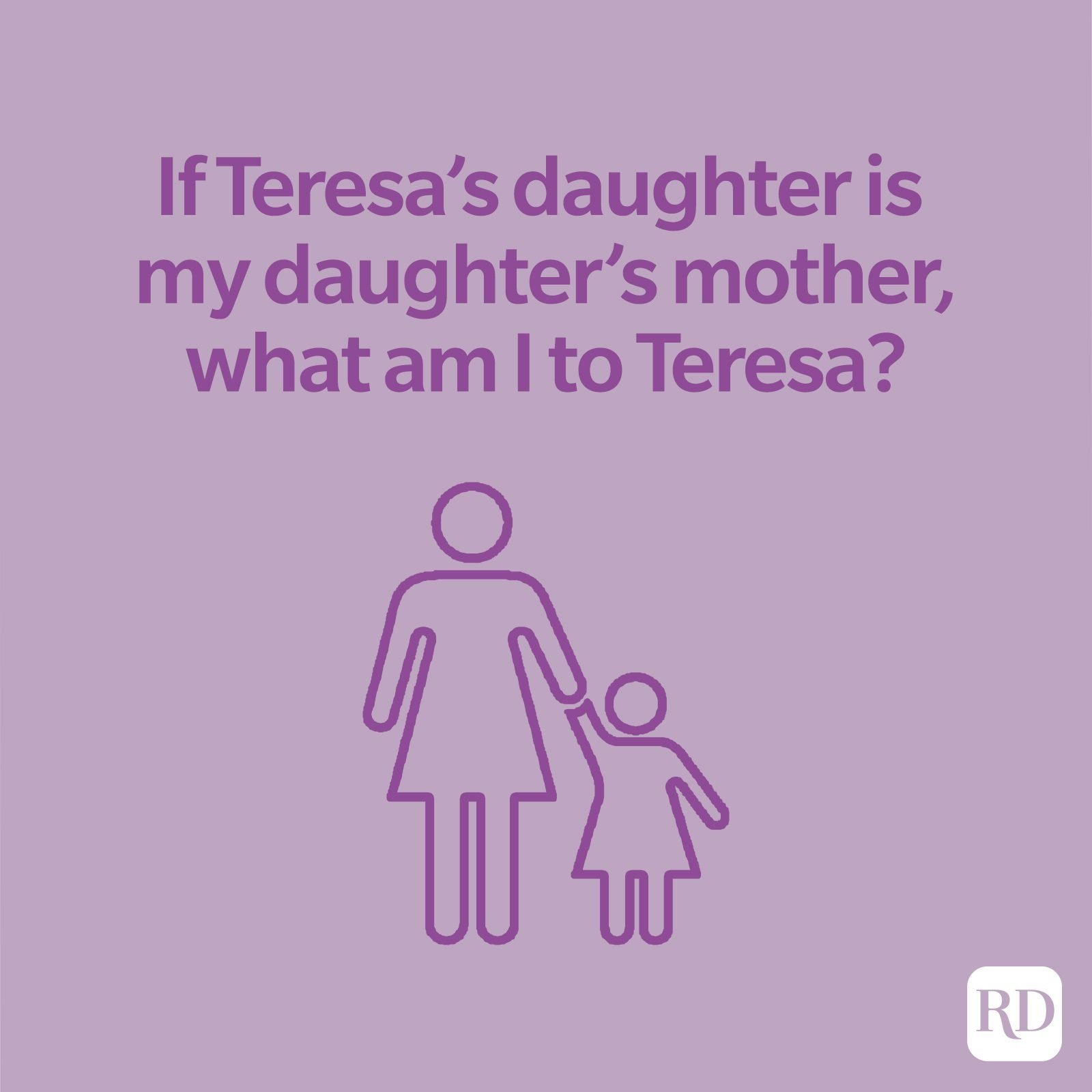 If Teresa's Daughter Is My Mother: Answer to the Viral Riddle