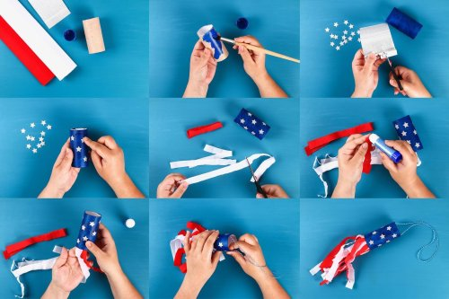 30 Festive 4th of July Crafts Anyone Can Make