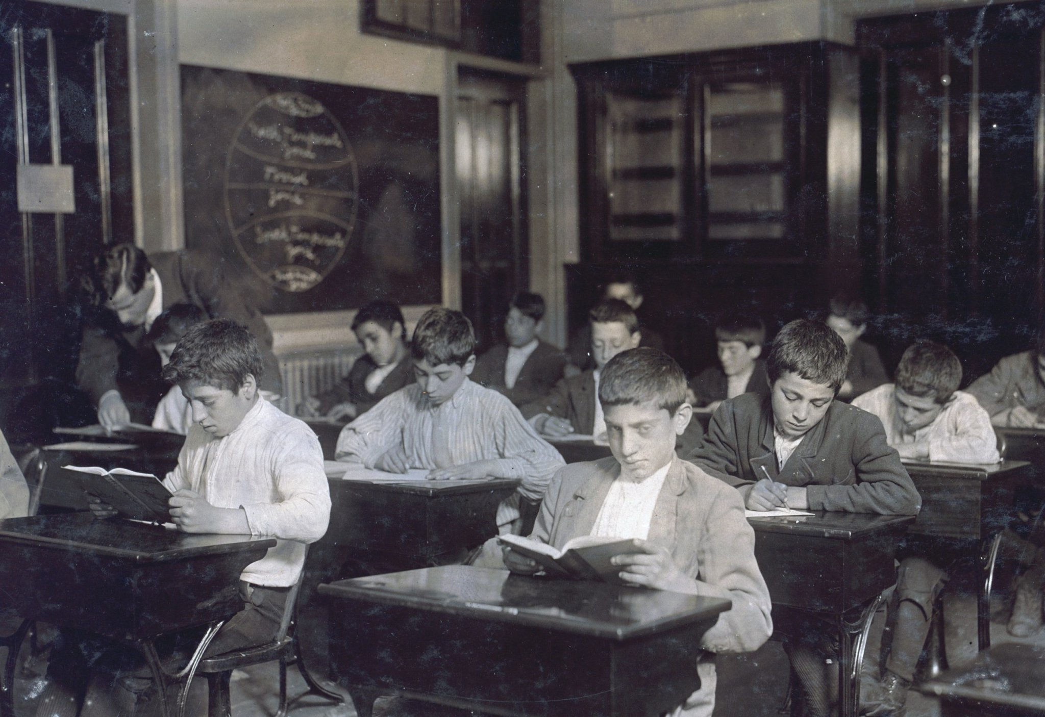 This Is What School Was Like 100 Years Ago
