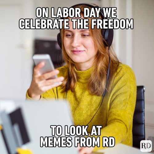 16 Funny Labor Day Memes to Laugh Off the End-of-Summer Blues