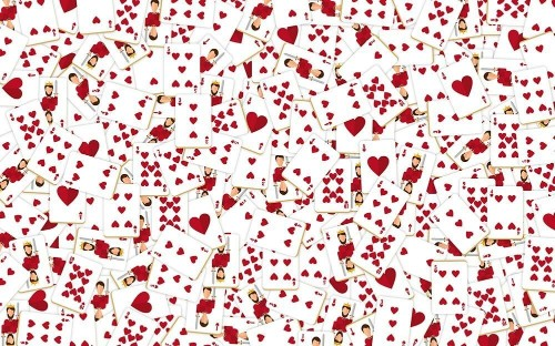 Can You Spot the Hidden Queen of Hearts in This Image?