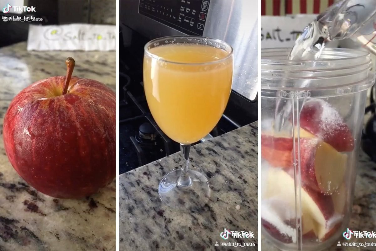 You Can Make Fresh Apple Juice In 30 Seconds—Here's How