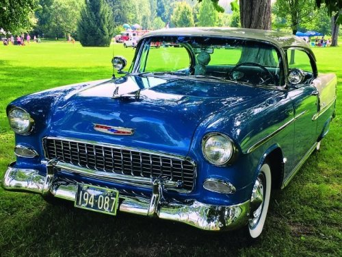 Bringing History Back to Life: The Journey of a Restored 1955 Chevy Bel Air