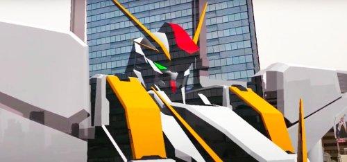 Japan-Based Developer Unleashes Giant AR Gundam Robot on the Public via HoloLens 2