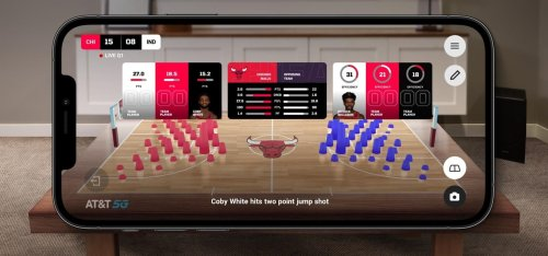AT&T and NBA Launch Mobile AR Experience via Chicago Bulls App