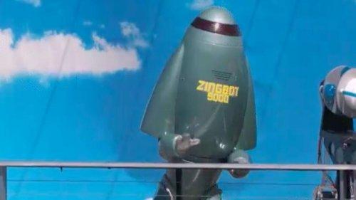 Who plays Zingbot on CBS's Big Brother season 23?