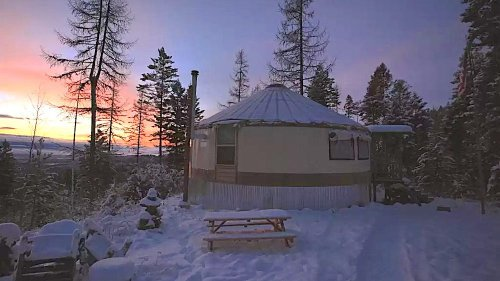 Featured on HGTV, This Montana Property Features a Tiny House and Yurt