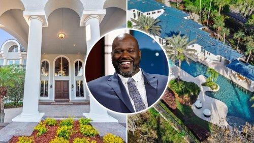 Shaq Sells Florida Mansion For 60% Less Than He Originally Sought