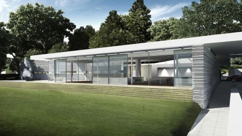 Philip Johnson's 'Jewel Box' Plus Plans for a Second Home Offered for $7.7M