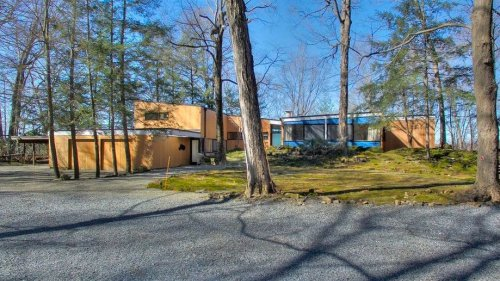 Own Architectural History With Marcel Breuer-Designed House in Poughkeepsie