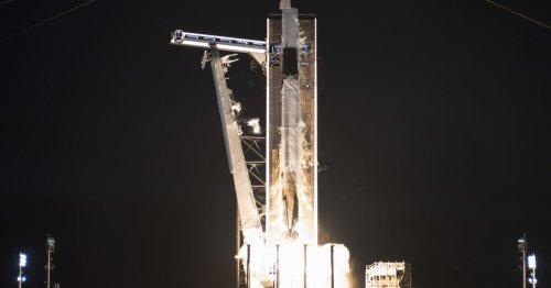 SpaceX Sends First All-Civilian Crew to Big Boy Space