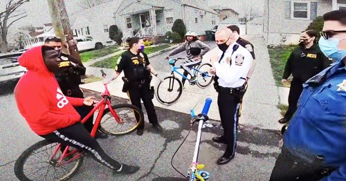 Cops Seize Bikes and Arrest 1 Teen Over Traffic Violations and Bike Licenses