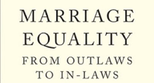 Lessons of the Legal and Political Struggle for Same-Sex Marriage