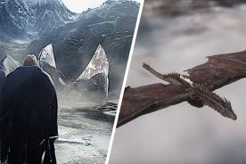 November Eve: In diesem Open-World-RPG befehligt ihr einen feuerspeienden Drachen