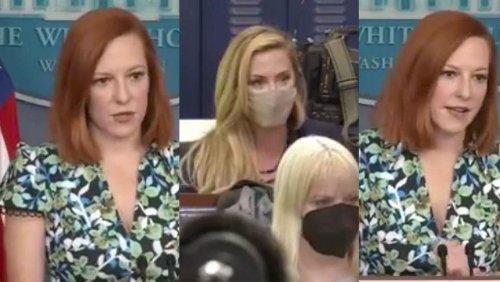 Jen Psaki Effortlessly Destroys Newsmax Reporter Who Thinks Biden Should Fire Black U.N. Ambassador