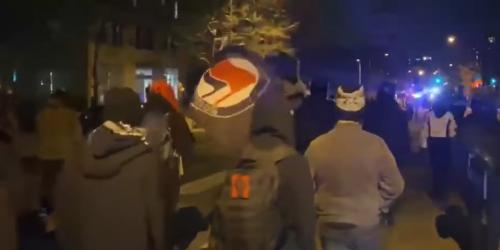 BLM and Antifa march in DC, threaten to 'burn down' Washington