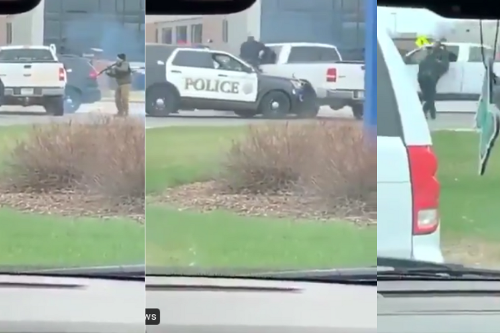 White Minnesota Man Flees Scene With Cop Hanging From His Truck Window—And Isn't Tased Or Shot