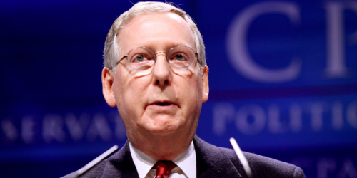 McConnell's Political Threat To Corporations Is Backfiring