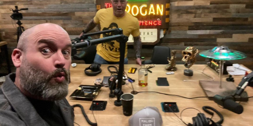 Joe Rogan ditches first Austin podcast cave for new well-lit studio