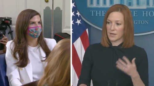 Jen Psaki Swiftly Educates Reporter Who Questions Biden Traveling Internationally On Air Force One