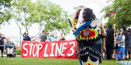 Why Indigenous women are risking arrest to fight Enbridge's Line 3 pipeline through Minnesota