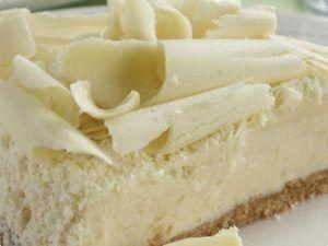 Para seu domingo este Bolo mousse de chocolate branco; Veja Aqui >>>