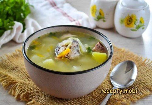 Рыбный суп из консервов сардины