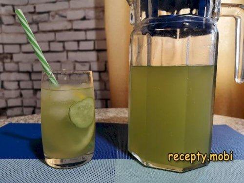 Огуречный лимонад в домашних условиях