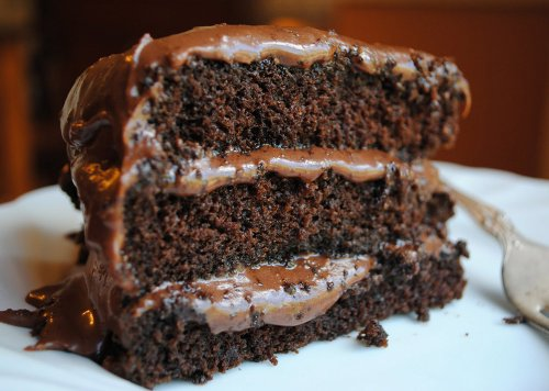 3-Layer Dream Chocolate Cake with Nutella Frosting Recipe