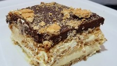 Discover chocolate eclair