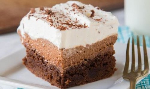 French Silk Dream Brownies