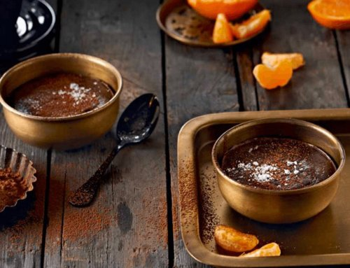 Olive Oil Dark Chocolate Pots