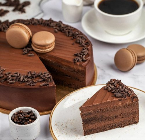Favorite Chocolate Fudge Layer Cake