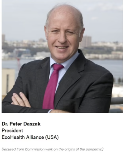 Virus expert Peter Daszak, whose letter caused Big Tech to censor lab leak theory, received Google funding