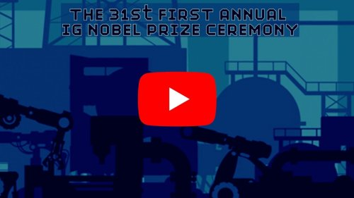 """""""Ig Nobel Prize Awards"""" blocked on YouTube over a musical track more than 100 years old"""