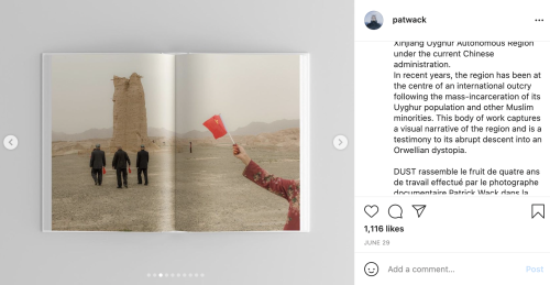 Kodak deletes Xinjiang photo from Instagram, apologizes for offending China