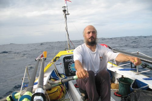 Meet Erden Eruç – The Human Rowing Machine