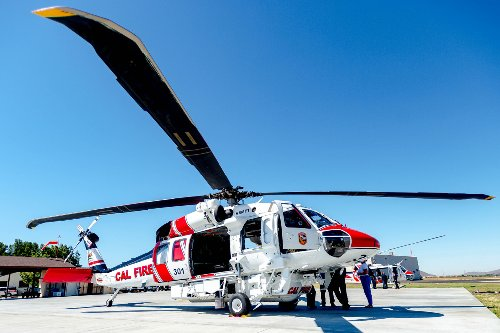 New Cal Fire helicopter already showing its chops