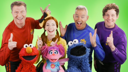 """Sesame Street"" Is Teaming Up with ""The Wiggles"" for Musical Fun"